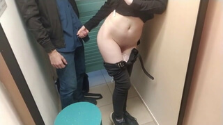 Trying on clothes in the store ended with sex
