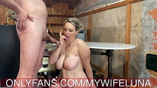 The urge to fuck my wife's ass and cum all the cum in her mouth