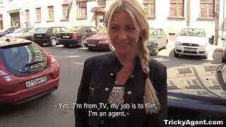 Tricky Agent - Modest blondy Lindsey Olsen turns to really sex teen porn