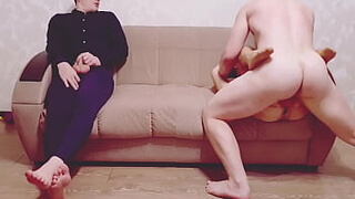 Real Cuckold: Fuck my Wife and blowjob doggystyle