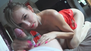 348 Play with a Naughty Girl's Ponytail