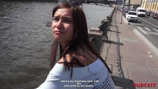 DudCast - Cameraman Fools around with Chick