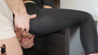 He come to Fuck my Tight Pussy and Ass ANAL CREAMPIE