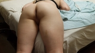 Looked at her for a Long Time, and then Quickly Fucked her Pussy and Cum on Holes
