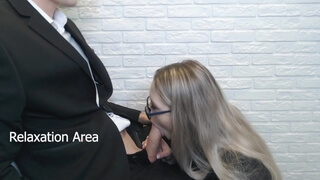 The secretary did not make a report, but made a blowjob
